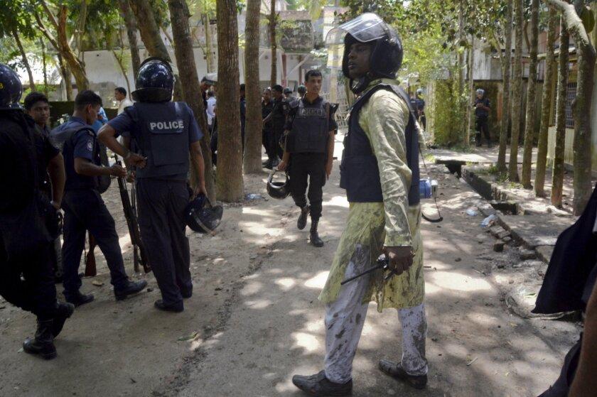 Eid prayer attack in Bangladesh