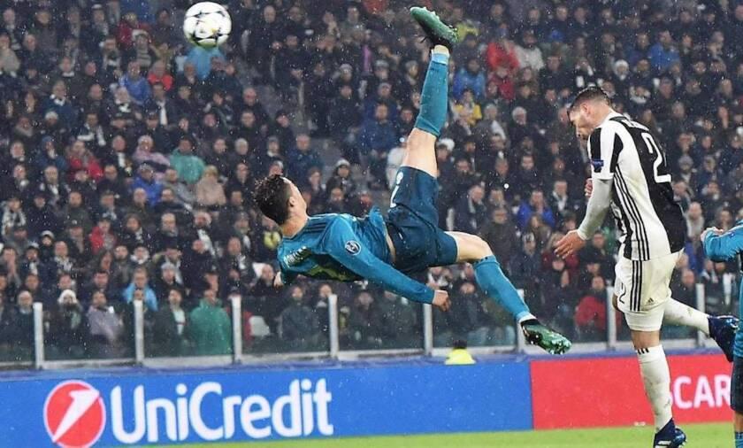 La silueta inolvidable de Cristiano Ronaldo en el golazo a Juventus.
