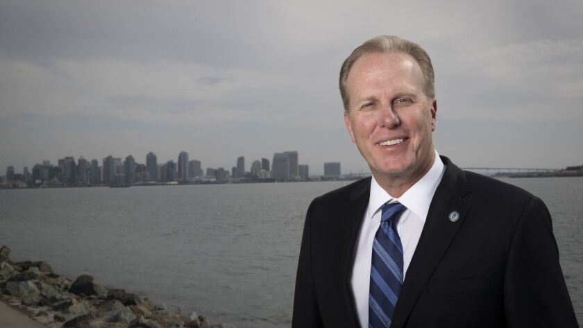 San Diego Mayor Kevin Faulconer is authoring many homebuilding proposals.