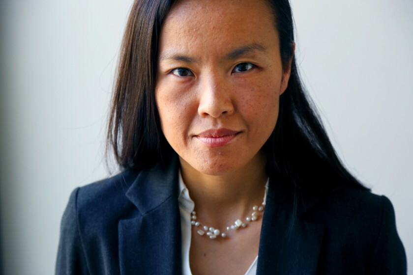 Sociologist Emily Ryo is an assistant professor at USC's law school.