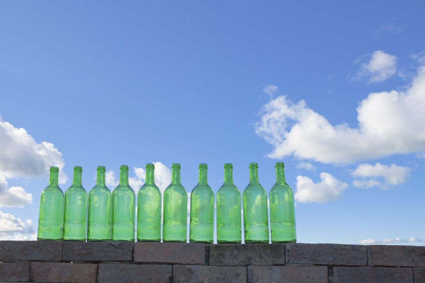 Bottles On A Wall