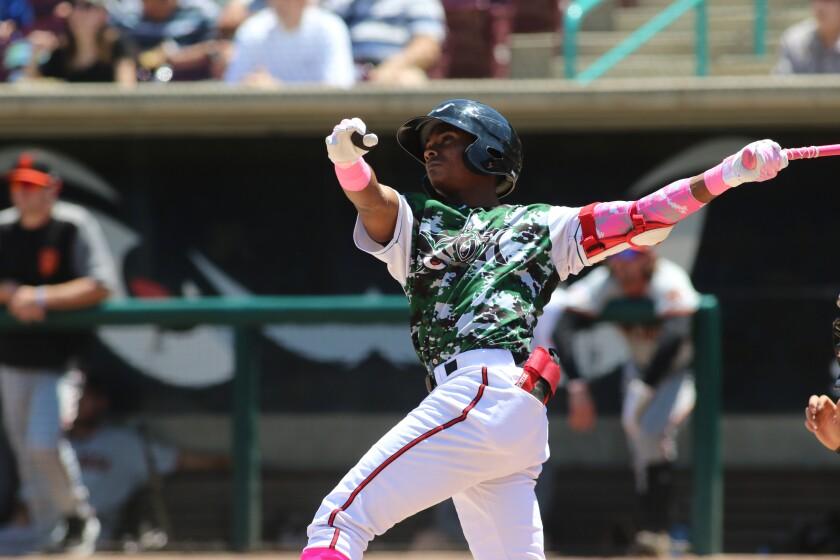 Padres minor league infielder Esteury Ruiz started 2019 at high Single-A Lake Elsinore.
