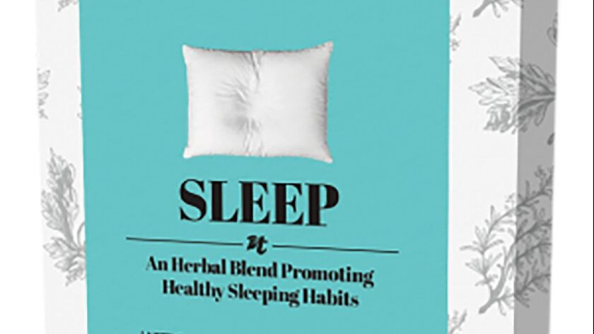 Camomile, lemon verbena and sage are in Sleep, a blend from Teasane.