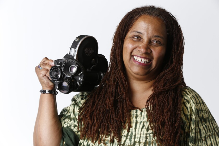 Zeinabu Davis is a filmmaker and professor of the department of communication at UC San Diego.
