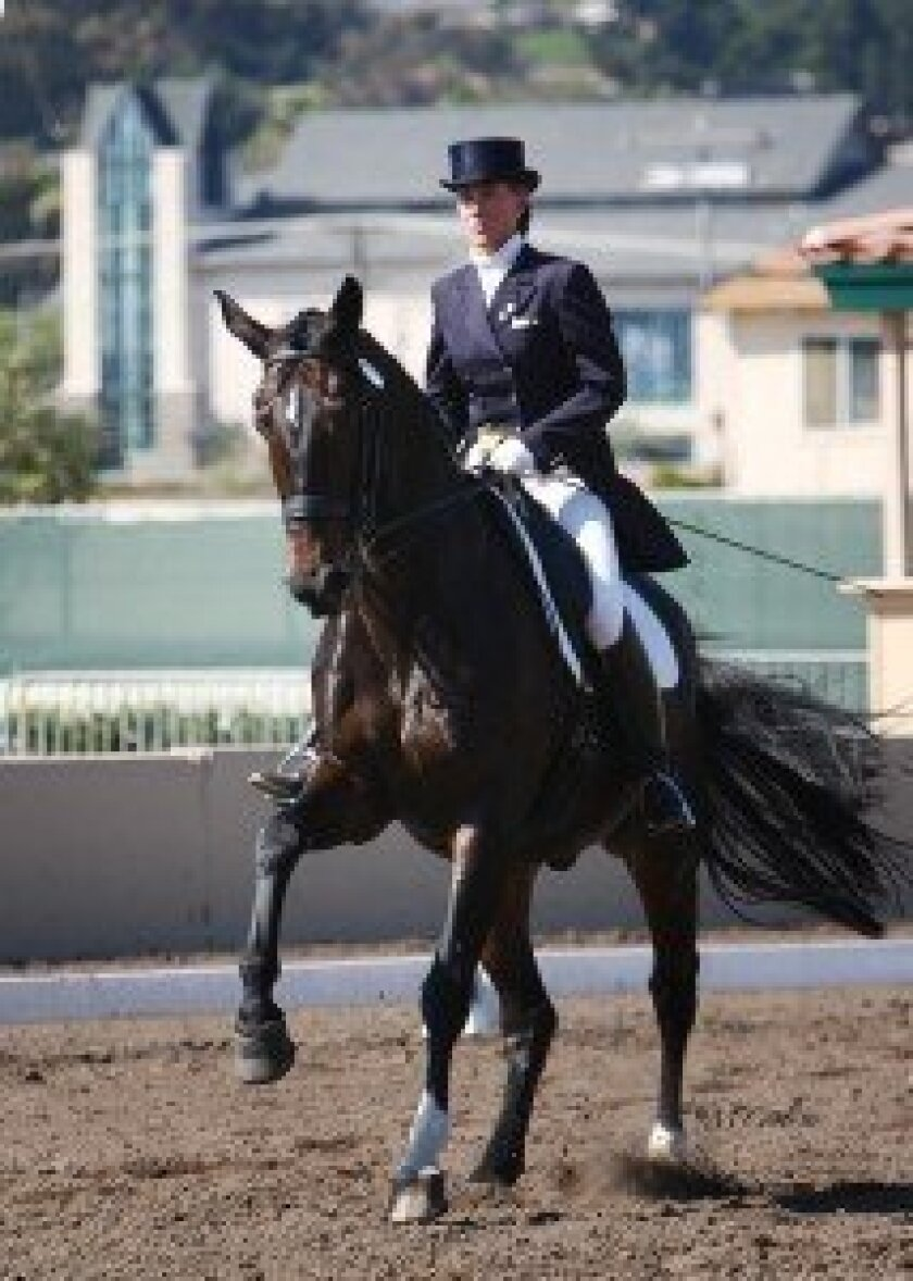 Valenti Equestrian Club of Rancho Santa Fe welcomes Lena Nordlof-Davis as its new dressage trainer. Photo courtesy McCool Photography