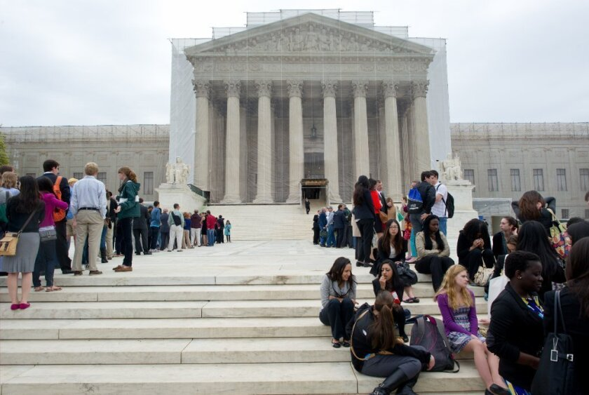 Supreme Court considers gene patents; scientists react