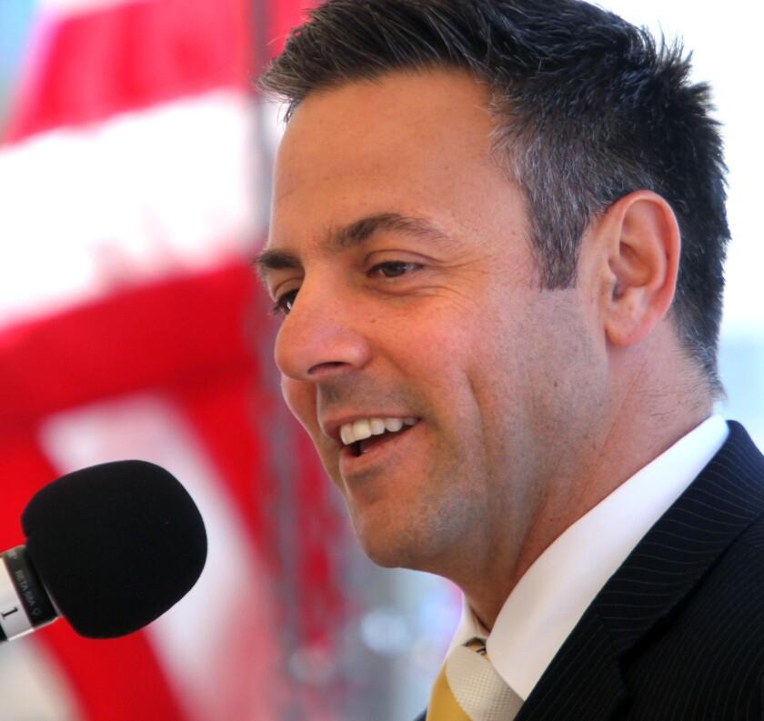 City Councilman Joe Buscaino represents the 15th District.