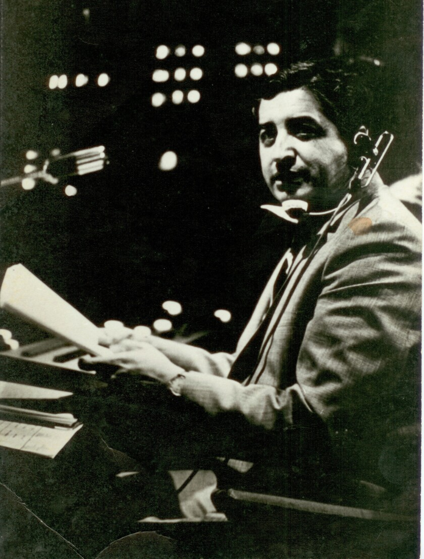 Ruben Salazar during his tenure as news director of the Los Angeles Spanish-language TV station, KMEX.