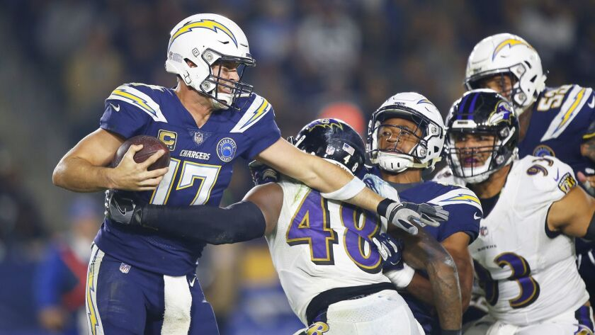 Chargers vs. Ravens 11/22/18