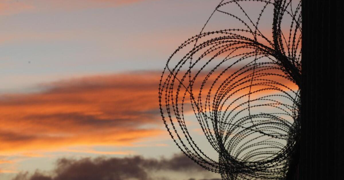 Concertina wire stolen from border fence and used for home security in Tijuana, authorities say