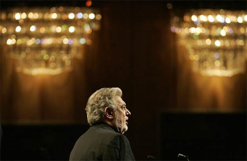 Plácido Domingo in 2008.