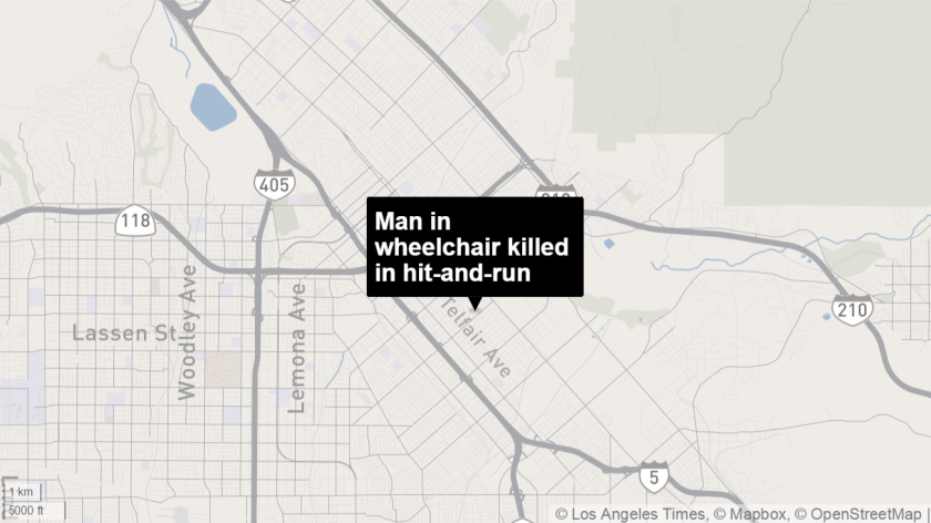 Manuel Gonzalez, 40, was hit while crossing the street in his wheelchair and was dragged 100 feet. He later died from his injuries.