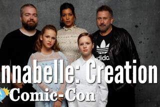 """""""Annabelle: Creation"""" Cast Says They Blessed The Set"""