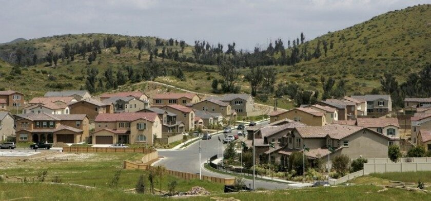 Pulte Homes' The Pines at 4S Ranch development in April.