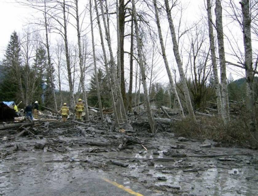 Washington mudslide search