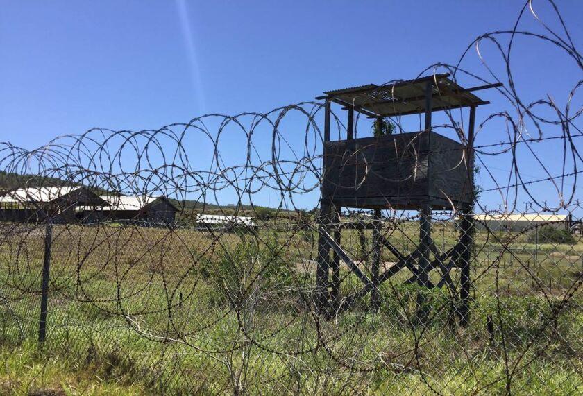 The U.S. military's Camp X-Ray at Guantanamo Bay Naval base in Guantanamo Bay, Cuba, on March 10, 2016.