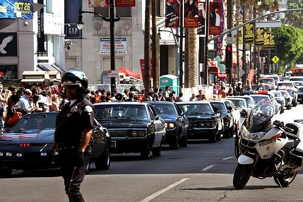 Old Cop Cars >> Old Cop Cars On Display Los Angeles Times