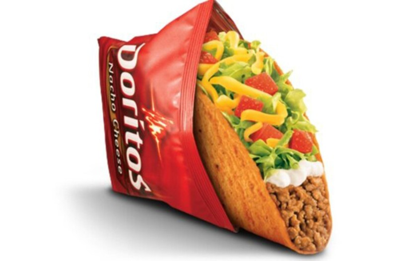 You'll soon be able to order a Taco Bell Doritos Locos Taco from your Lyft ride.