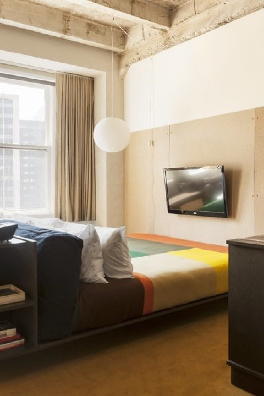 The new Ace Hotel is expected to open after the first of the year but begins accepting reservations on Monday.