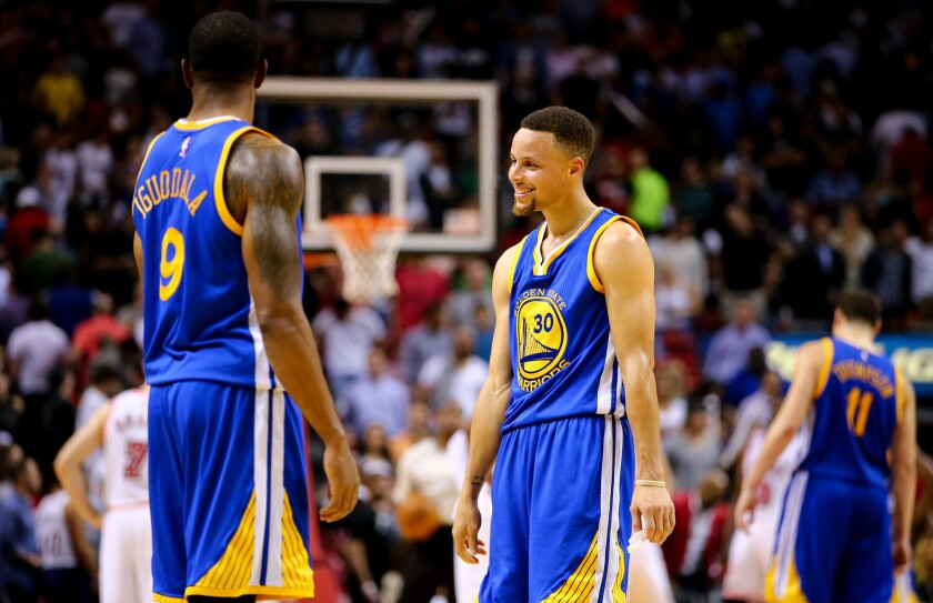 NBA: Warriors 9-0 when Stephen Curry scores 40