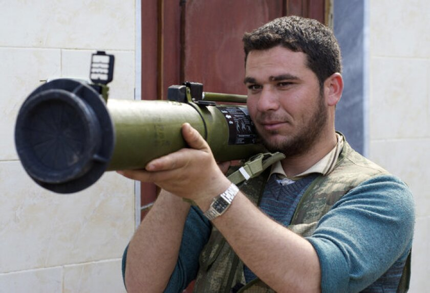 Amnesty International urges caution in arming Syrian rebels
