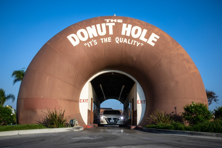 Driving through the Donut Hole in La Puente