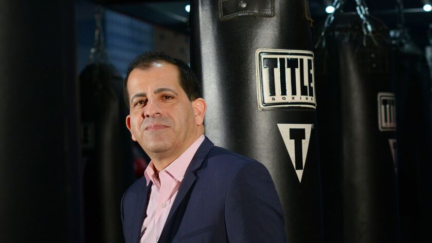 On Stephen Espinoza's watch, Showtime has had the two biggest pay-per-view events in television history.