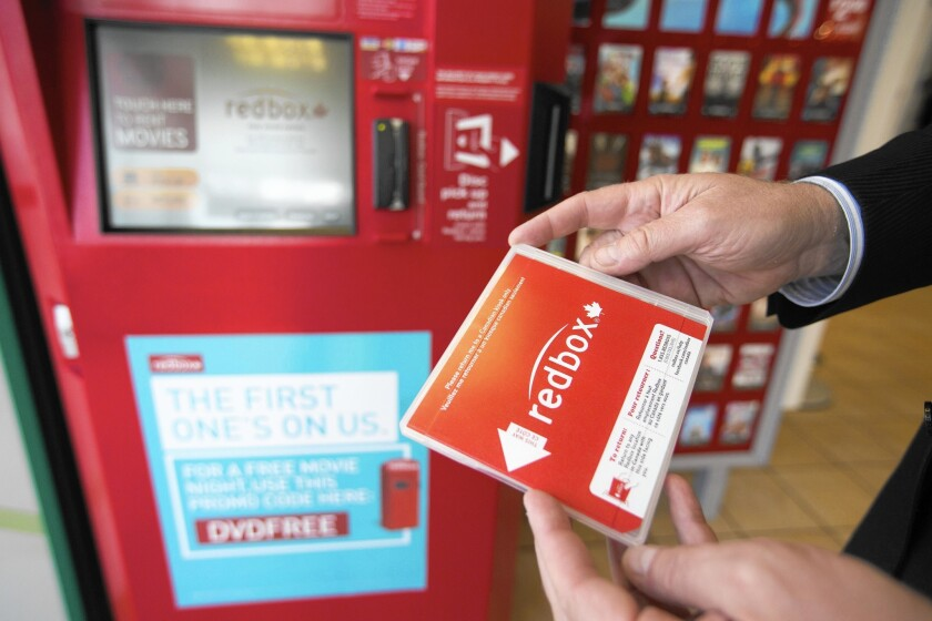 From 2012 to 2013, Redbox kiosk DVD rentals were down only 1%, while DVD and Blu-ray sales combined were down 8%.