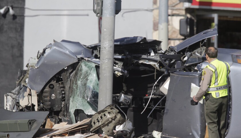 An investigation is underway into a single vehicle fatality accident in West Hollywood Thursday morning that shut down a stretch of Sunset Boulevard.