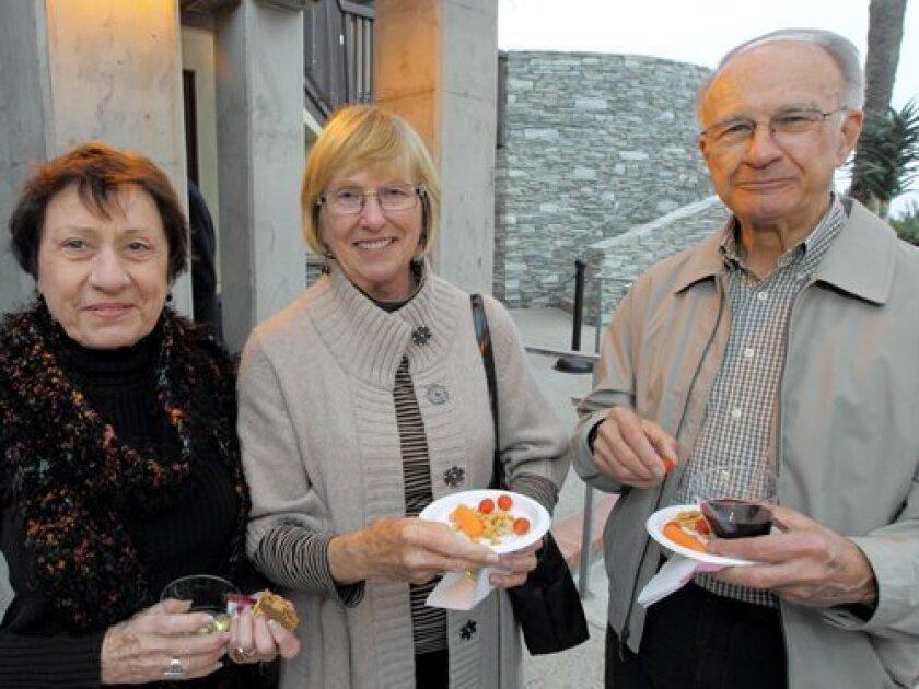 Teri Tilker, Margie Schneider, Bob Schneider