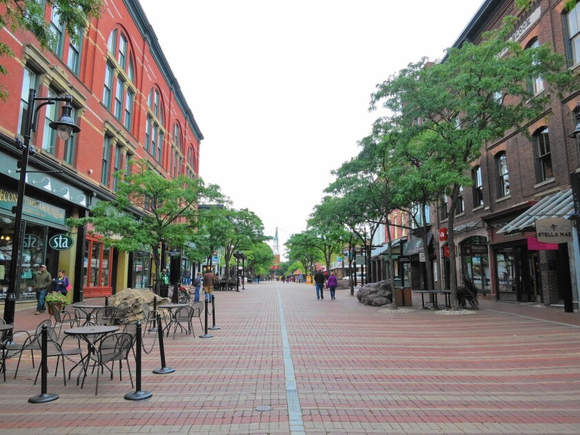 Burlington, Vt., is the largest city in the state. Vermont is offering $10,000 to people willing to move to the state.