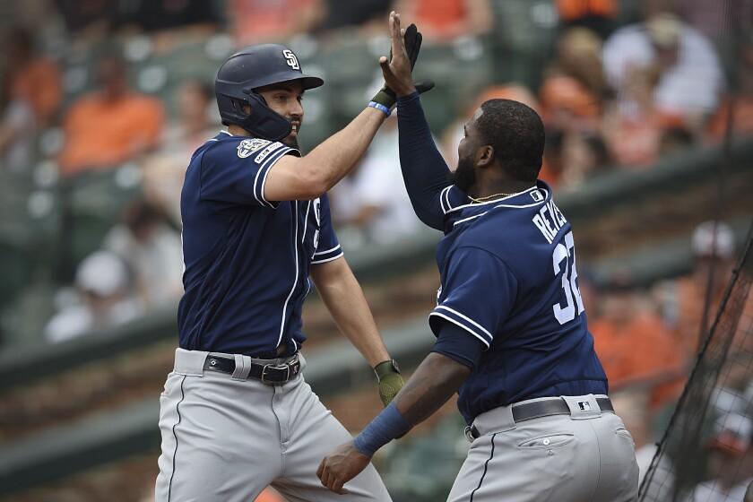APphoto_Padres Orioles Baseball