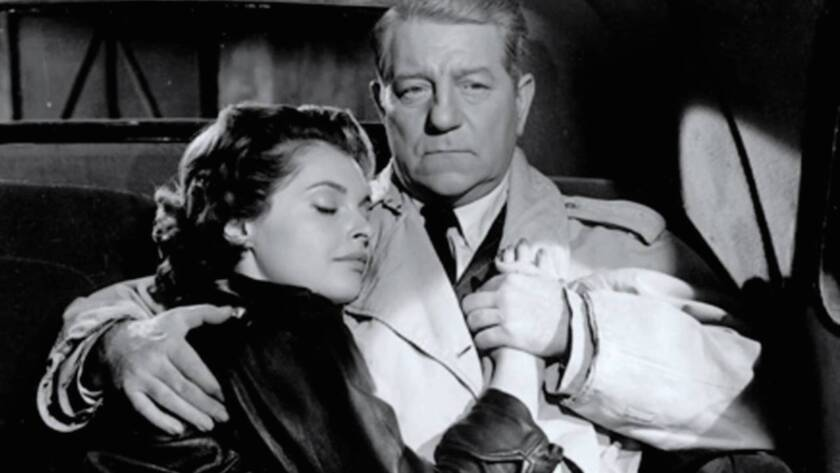 """""""The Night Affair,"""" a rare late 50s noir from underrated director Gilles Grangier features the great Jean Gabin in a story of drugs and romance with Nadja Tiller. Screening at the American Cinematheque's Aero Theatre during their film festival, """"The French Had A Name For It."""""""