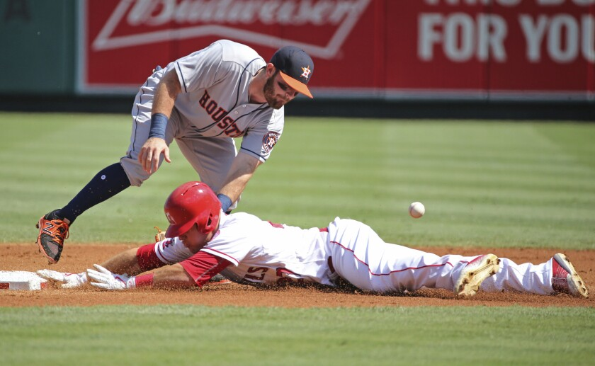 Tyler White, Mike Trout