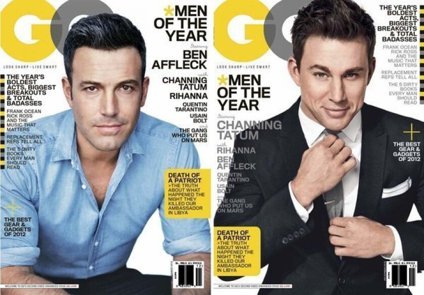 Rihanna, Affleck and Tatum star in GQ Men of the Year issue