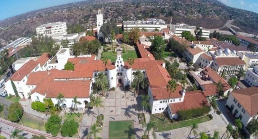 San Diego State University has capped enrollment at 35,000 to 36,000 because it is built out. The school wants to build a satellite campus nearby in Mission Valley.