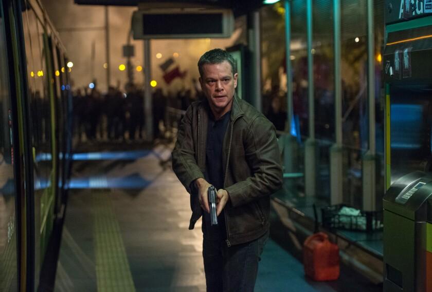 """Matt Damon en una escena de """"Jason Bourne"""" en una imagen proporcionada por Universal Pictures."""