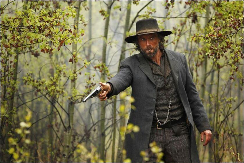 """Anson Mount as Cullen Bohannan in """"Hell on Wheels."""""""