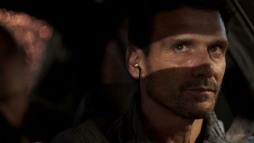 "Frank Grillo in a scene from the Netflix series ""Wheelman."" Credit: Netflix"