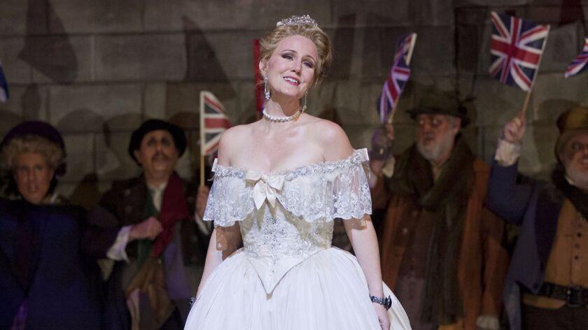"Mezzo-soprano Lauren McNeese in San Diego Opera's ""Cinderella."""