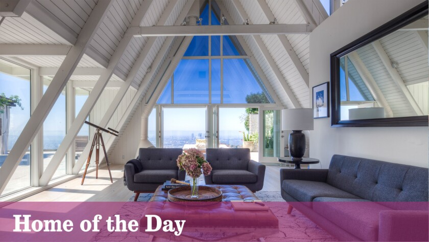 Home of the Day: A-frame design with Hollywood pedigree