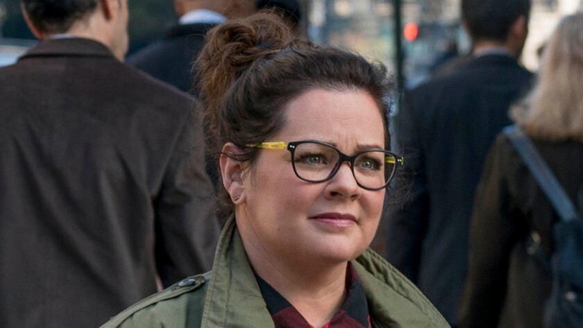 """Melissa McCarthy says she is """"confused"""" by the trailer for the """"Ghostbusters"""" reboot."""