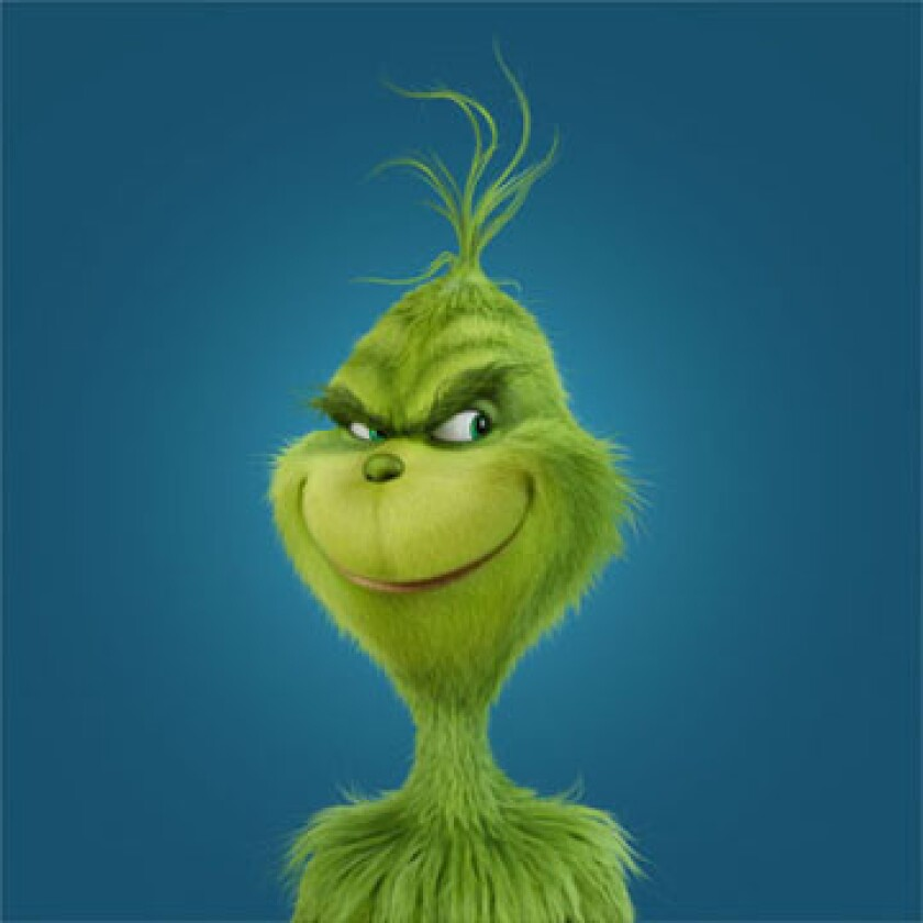"""Dr. Seuss' The Grinch"" from Illumination Entertainment and Universal Pictures."