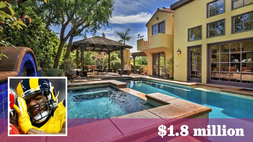 Los Angeles Rams tight end Lance Kendricks has hauled in a new home in Calabasas for $1.8 million.