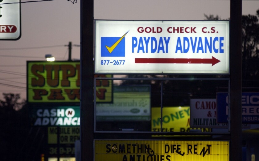 Payday loans trap people in a cycle of debt, U.S. watchdog says