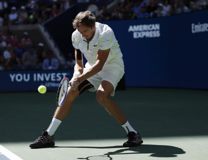Daniil Medvedev, cuarto jugador clasificado