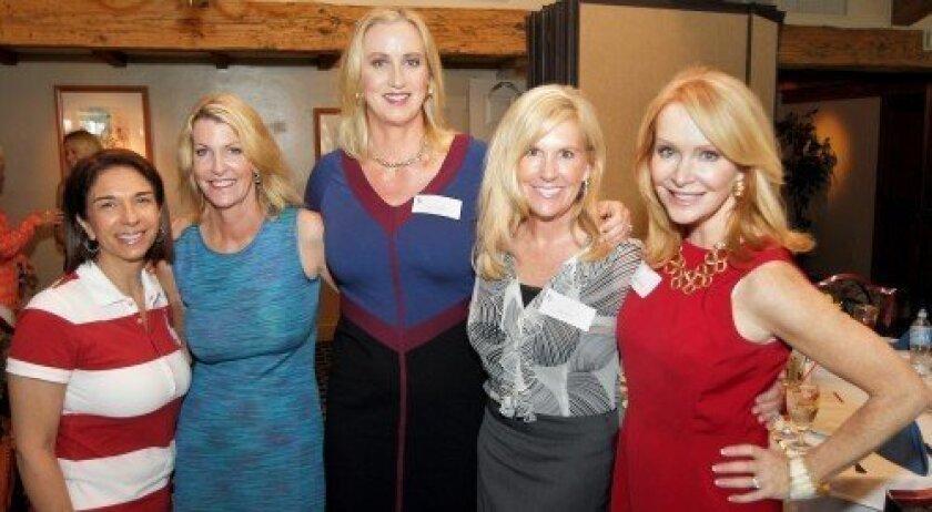 Susan Appleby, Cathy Polk, Sophia Alsadek, Dana Wilcox, Sandra Maas