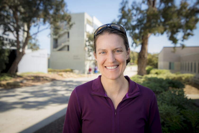 Jennifer Burney, a UC San Diego professor, has been doing fieldwork around the world to help farmers maximize their crop yield while minimizing their negative impact on the earth.