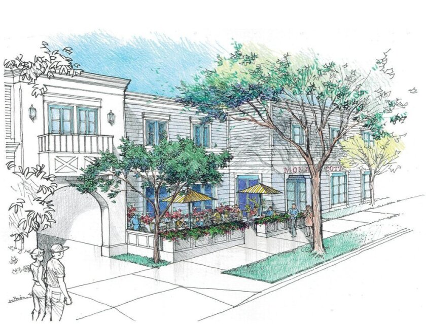 La Jolla Community Planning Association voted in favor of modifications to Monarch Cottages memory care facility proposed for 7630 Fay Ave. Plans now include an outdoor café that will be open to the public, added to assuage concerns about the project's initial lack of retail connectivity in the com