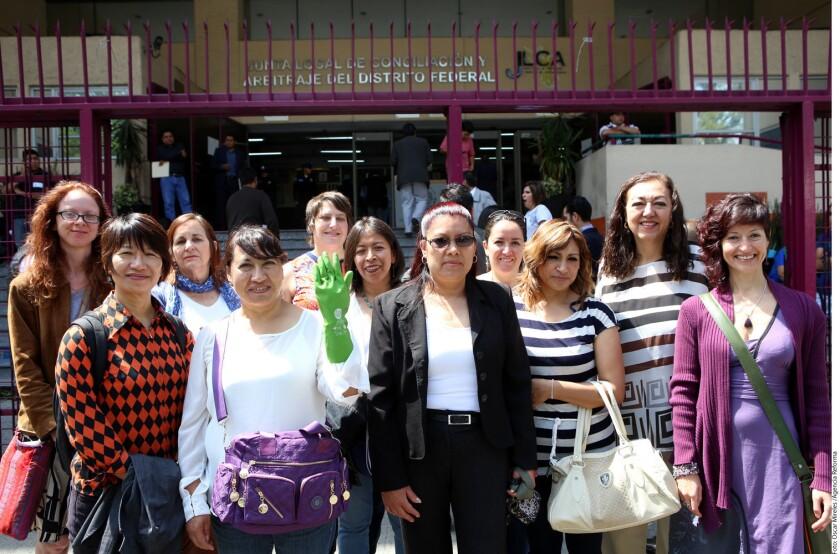 Trabajadoras domésticas se han manifestado y han luchado por sus derechos en Ciudad de México.
